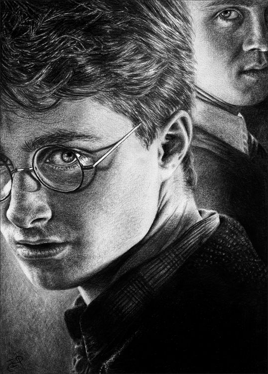 Harry Potter and Draco by Wicked-Illusion.deviantart.com on @deviantART