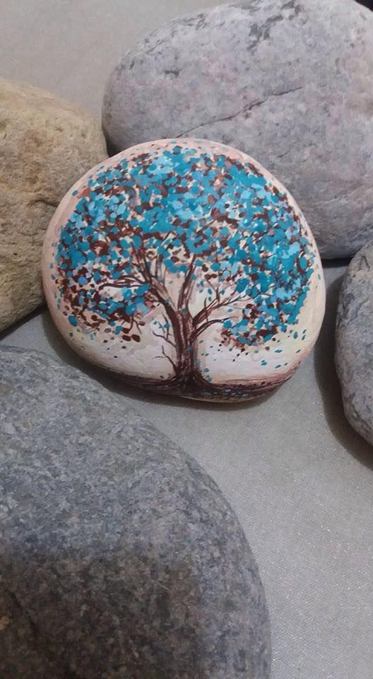 1462 Best Pebbles And Stones Trees Images On Pinterest