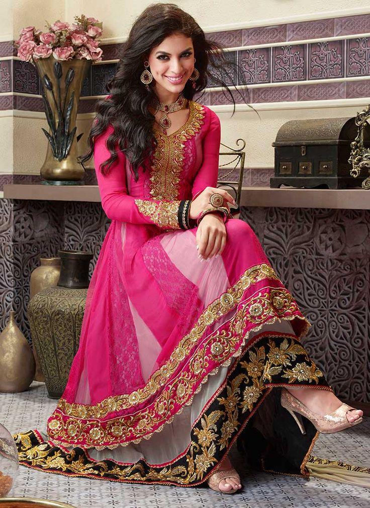 gorgeous anarkali by http://www.CBazaar.in/salwar-kameez/c-sb.html#noprd=yes