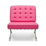 Pink Barcelona Chair: Pink Barcelona, Barcelona Chair, Der Rohe, Pink Leather, Style Pink, Rohe Style