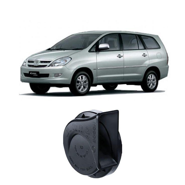 Bosch Klakson Mobil Toyota Kijang Innova H3F Digital Fanfare (Keong) Black 12V - Set - Hitam (0986AH0601)  Dijamin 100% genuine Bosch, Tahan Cuaca, Suara Nyaring & keras  http://klikonderdil.com/klakson/597-bosch-klakson-mobil-toyota-kijang-innova-h3f-digital-fanfare-keong-black-12v-set-hitam-0986ah0601.html  #bosch #klakson #jualklakson #kijanginnova
