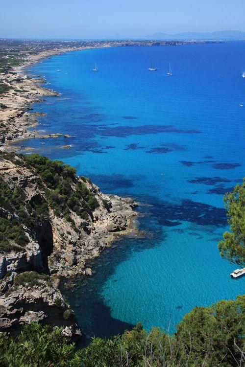 Formentera. Vista desde Sa Pujada