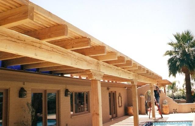 """Deck in progress (by """"McLintock!"""" Builders)"""