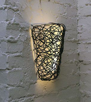Battery Powered Wall Sconce With White Light Or Candle Flicker At Battery  Operated Candles