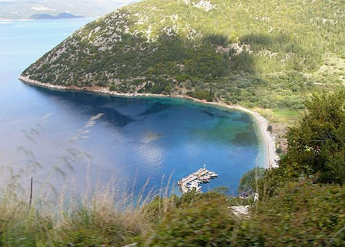 Stavros beach - Ithaki island, Greece