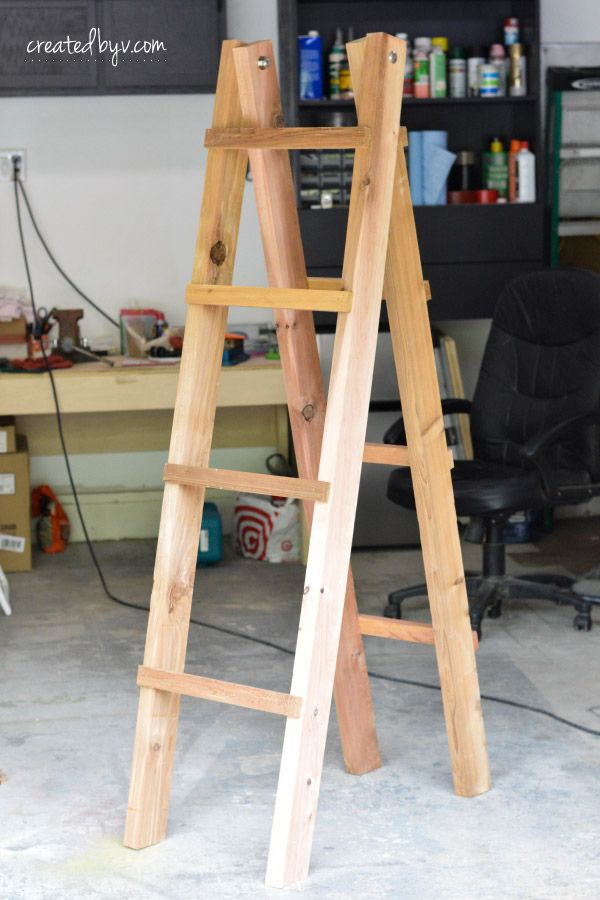 Diy A Frame Folding Plant Stand With Images Plant Stand