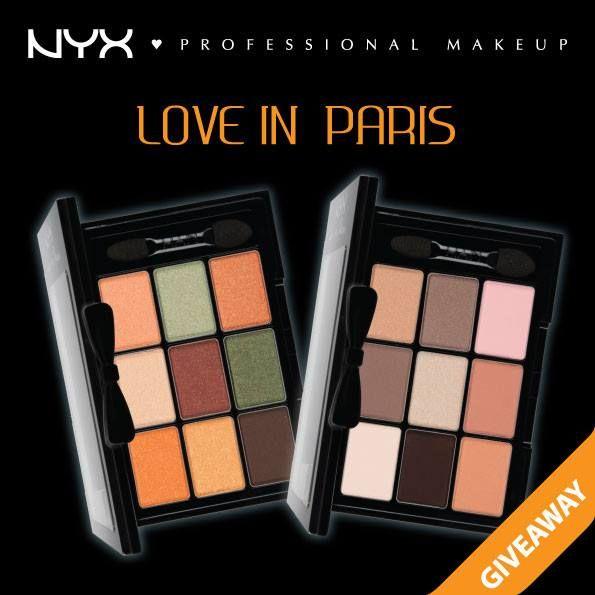 Дорогие подписчики, объявляем о новом конкурсе!!! Участвуйте!   У Вас есть возможность выиграть палетку NYX Love In Paris!  Время проведения конкурса: 26 июня – 07 июля 2014 года.  https://www.facebook.com/photo.php?fbid=898842953475529&set=a.716337348392758.1073741828.689159394443887&type=1#