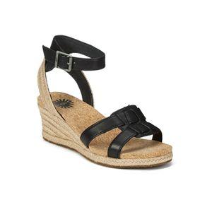 UGG Women's Maysie Wedged Sandals - Black: Image 41