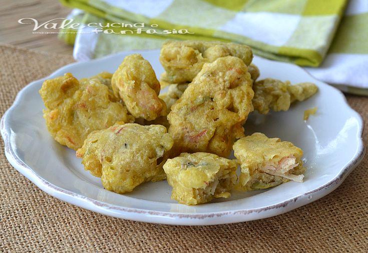 Frittelle di carciofi e prosciutto cotto ricetta veloce