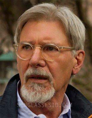 Harrison Ford Wears Oliver Peoples Gregory Peck Eyeglasses