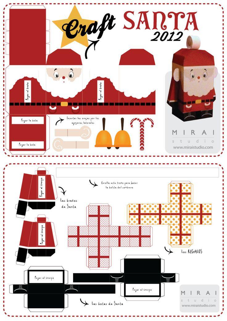 laboratori per bambini lavoretti natalizi addobbi natale creatività christmas craft kids babbo natle santa claus
