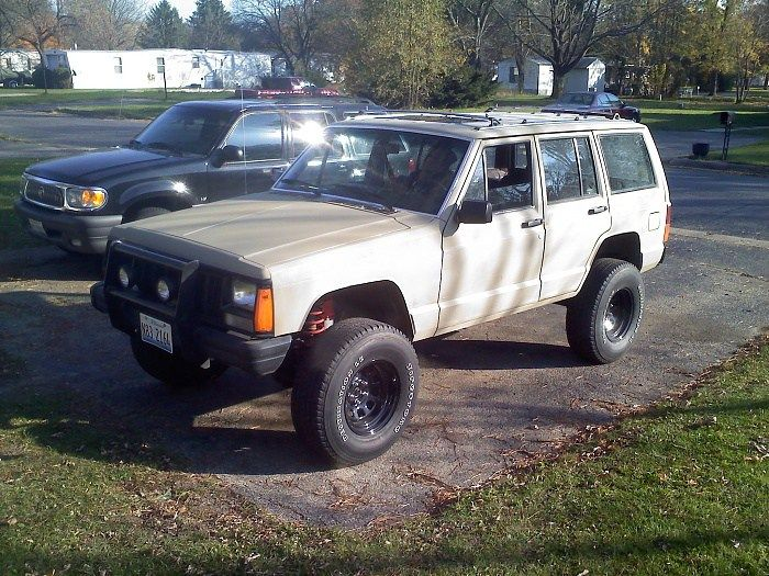 Awesome Jeep Cherokee Push Bar
