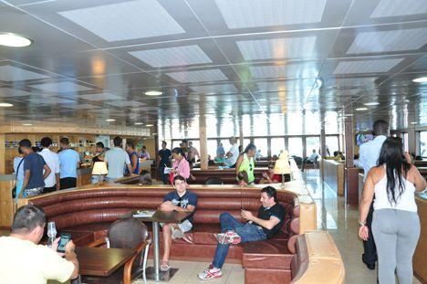 """Pregopontocom Tudo: Novo """"ferry"""" parece navio de cruzeiro"""