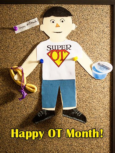 Happy OT Month! How are you celebrating OT month this year? I love being able to promote awareness of OT! I was lucky enough to be able to volunteer in my son's Kindergarten class last…