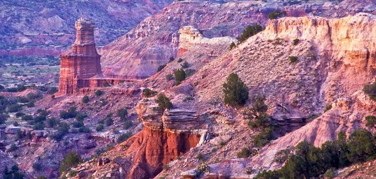 No tour of Texas would be complete without a stop at this natural wonders. While you're at it, enjoy some of the small-town charms that Canyon has to offer.