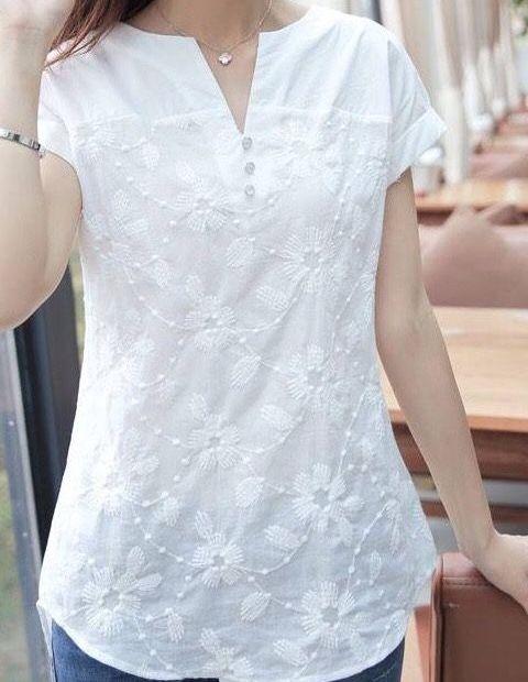 525411adab Blusas fashion para mi mami