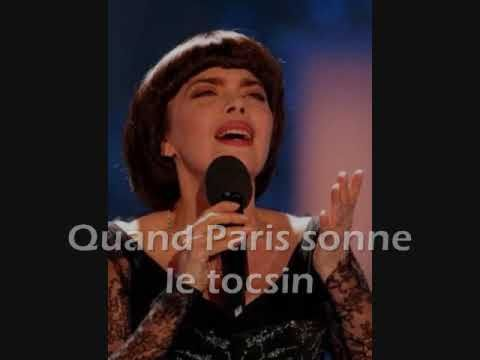 Paris en colère - Mireille MATHIEU - - YouTube