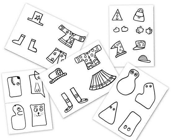 Decoupages Decoupage Decoupage Montessori Et Kids Learning