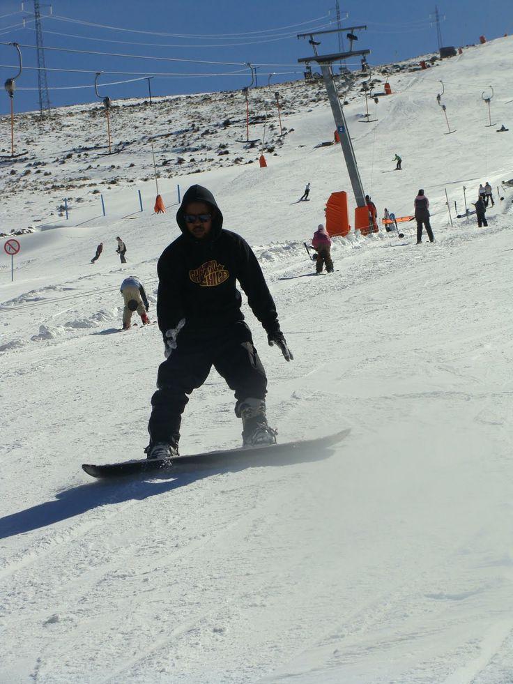 go Snowboarding in Lesotho.