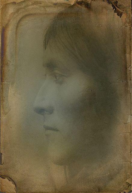 +~+~ Antique Photograph ~+~+  Native American Indian ~ Bartelda, Apache. 1899