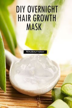Hair Growth Mask – Coconut Oil and Aloe Vera Gel