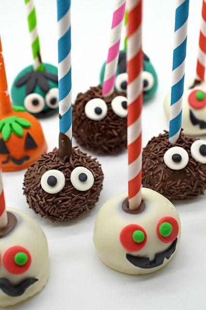 Popcakes de Halloween
