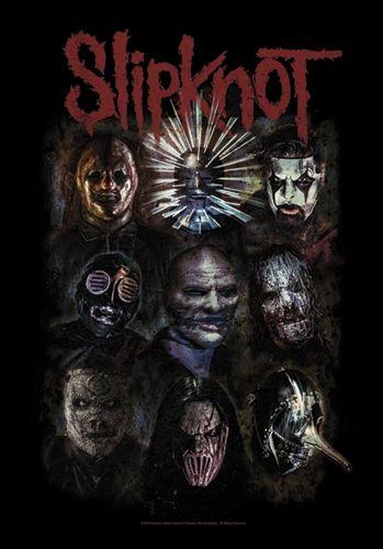 Drapeau SLIPKNOT - Oxidized #Drapeau #Slipknot #Masque