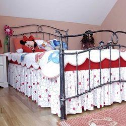 Kovaná posteľ - detská izba