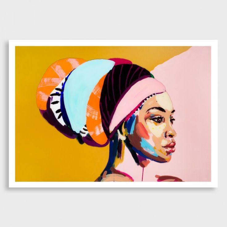 Her Love Conquers Art Print by Jen Sievers NZ Art Prints, Art Framing Design Prints, Posters & NZ Design Gifts   endemicworld