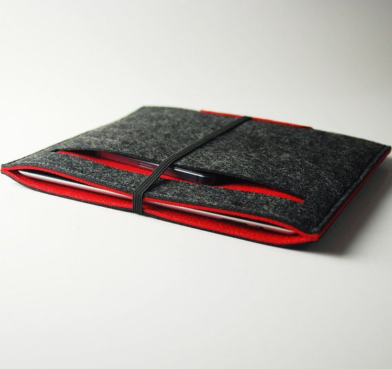 Felt  iPad case  iPad Bag  iPad Cover iPad Sleeve Felt by feltk, $26.00