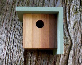 Birdhouse Modern Minimalist- The Bird Box