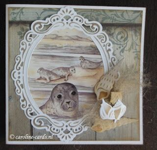 Caroline Cards: #MarianneDesign #MB0150 Zeehond
