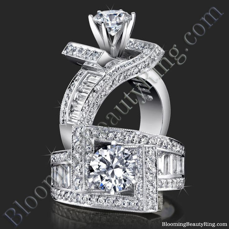 #MostUniqueEngagementRing from http://www.BloomingBeautyRing.com