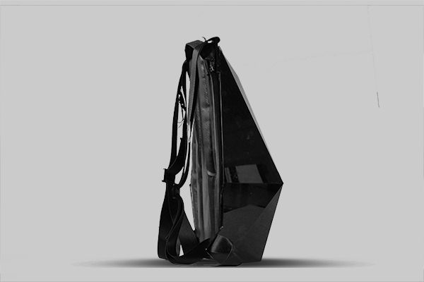 """""""Blackpack Cycling Backpack by William Root """" Inspired by a turtle's protective shell, the Blackpack incorporates clever innovative features to protect you and your belongings from the..."""