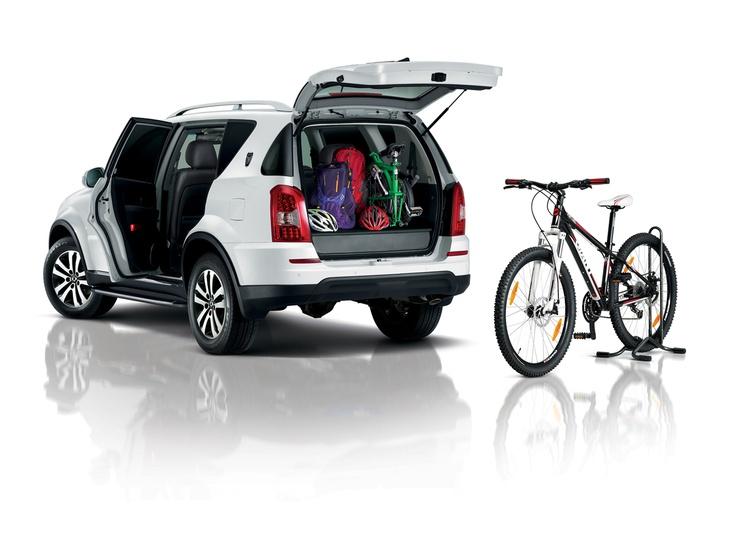 Con la Rexton W tenes mayor espacio para que trasportes y disfrutes mas.