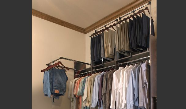 Pull Down Pants Rack Pull Down Closet Rod In Your
