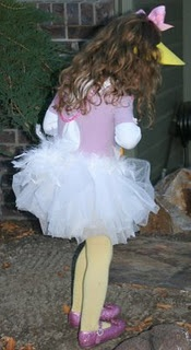 Daisy Duck - if all else fails, I will get Brooklyn a white tutu and purple shirt and bow...yellow tights and shoes. But...a bill might be hard to find. I could make one from felt.