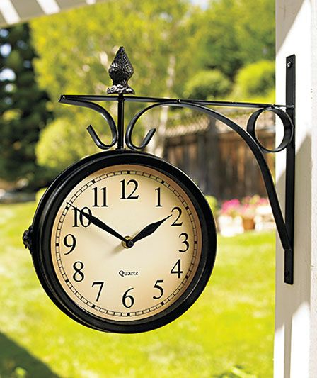 13 best clocks images on Pinterest | Outdoor clock, Outdoor rooms ...