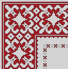 Bulgarian Motif No.4 free cross stitch pattern