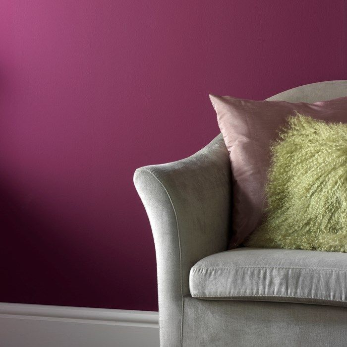 Brit Pop - Paint by Graham & Brown Look how stunning the color would be on the wall behind my headboard!