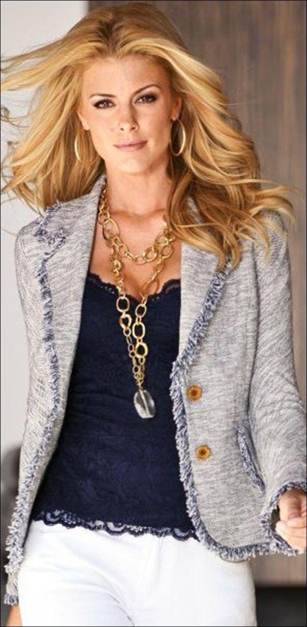 Classy Tweed Fashion Trends (28)