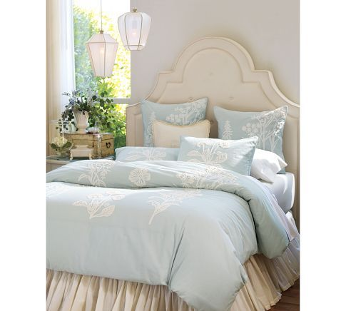pottery barn bed skirts 2