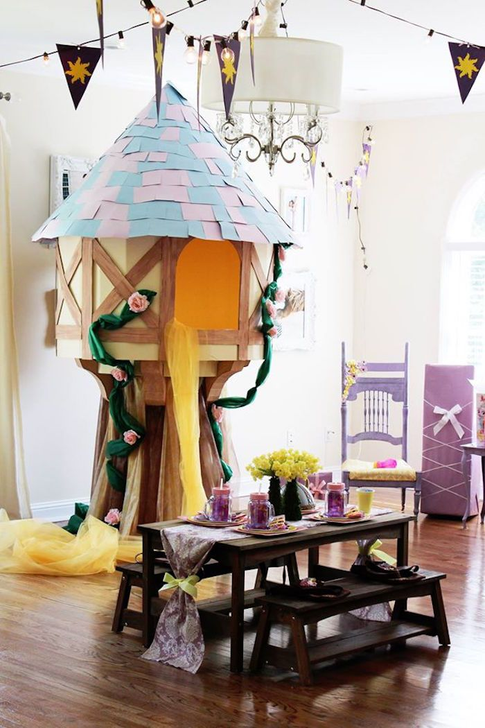 Rapunzel Birthday Party on Kara's Party Ideas   KarasPartyIdeas.com (28)