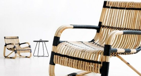 The Curve Series From The Danish Furniture Company Cane