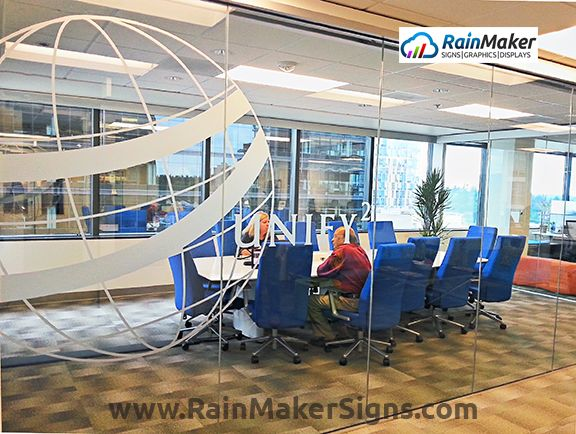 Best Frosted Etched Vinyl Window Graphics Images On - Window decals for medical offices