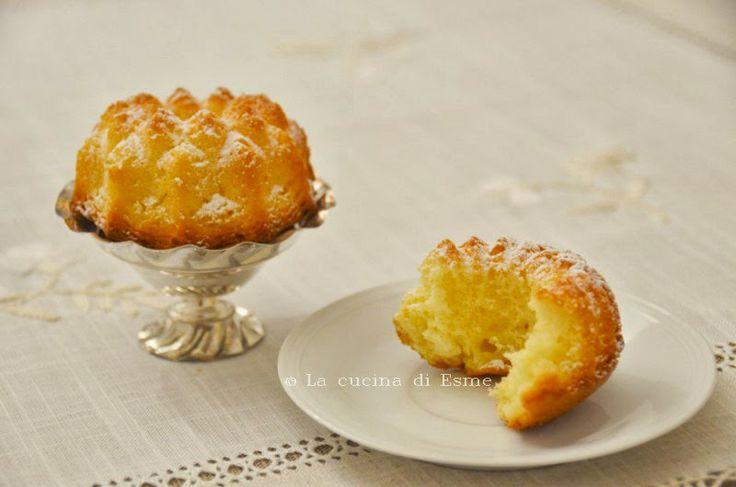 La cucina di Esme: Tortine al limone frullato