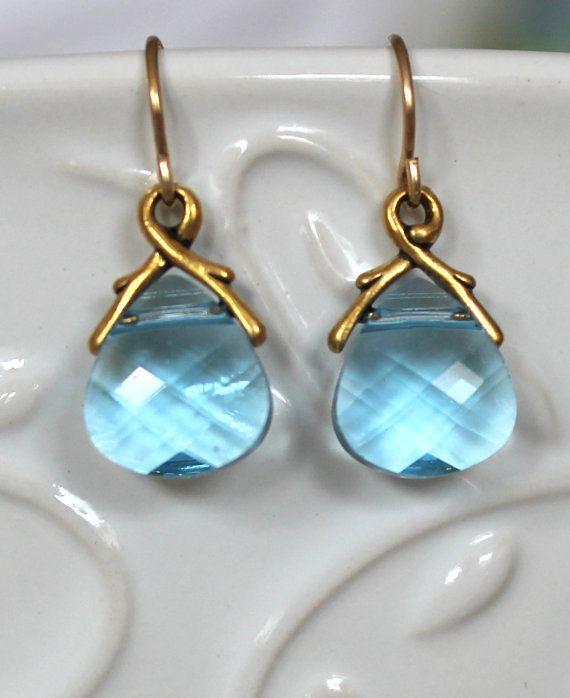 Swarovski Crystal Teardrop Earrings by NHjewel on Etsy, $30.00