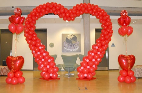 valentine's Day Corporate Decor