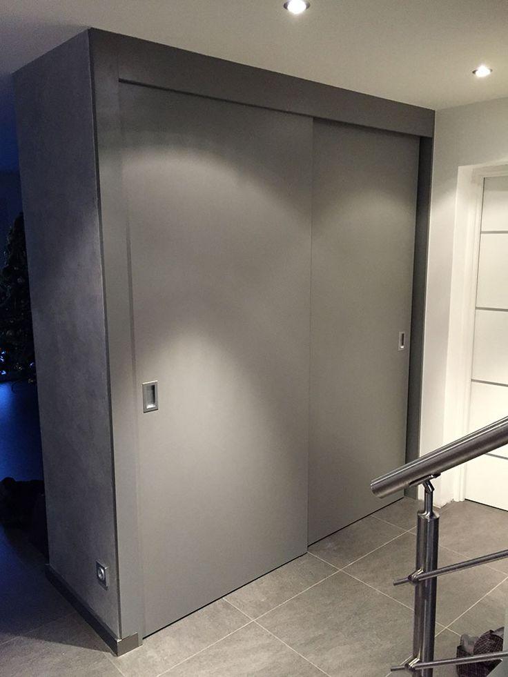 Armoire chambre et portes coulissantes … | Projet C