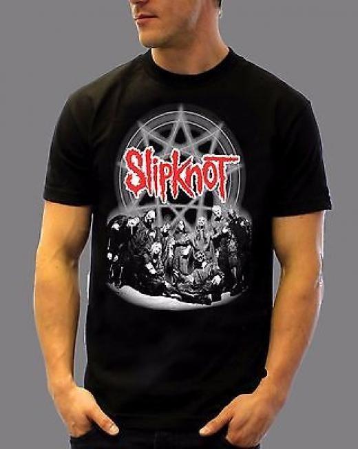 Extreme Punk Inc Slipknot T Shirt - Tank People Equal Sht Graphic Tee Regular S Black Short Sleeve Solid United States 100% Cotton